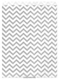 Health & Personal Care : My Craft Supplies 8 1/2 X 11 Inch Silver Gray Chevron Paper Bags Set of 100