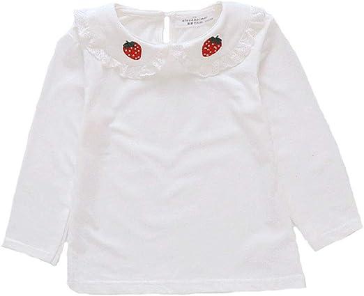 ZXB Bebé Infantil del niño Ropa de niña de algodón Camisetas de ...