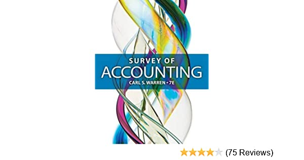 Amazon survey of accounting 9781285183480 carl s warren books fandeluxe Image collections