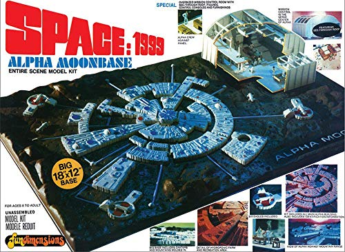 MPC MPC803/12 1/3200 Space 1999: Moon Base Alpha