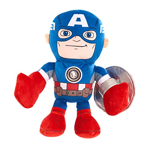 Marvel Just Play Sha Bedtime Buddies Captain America Plush