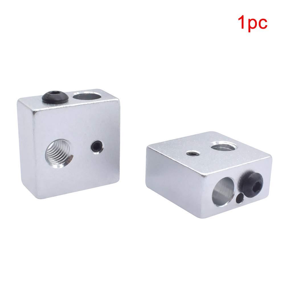 Bloque de calentador de aluminio para mini extrusora de impresora ...