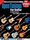 Open Tuning Guitar Lessons: Teach Yourself How to Play Guitar (Free Video Available) (Progressive)