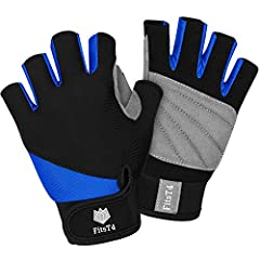 This 3/4 Finger Multi Sport Gloves from FitsT4 offer durable and flexible construction that provides a secure grip are perfectly for stand-up paddle boards (SUP), kite boarding, kayaking, canoeing or personal watercraft use, the 3/4 finger de...