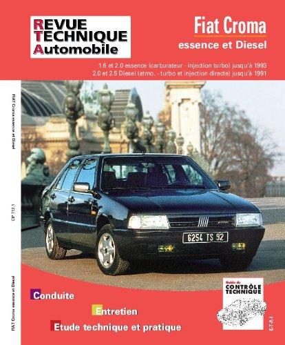 Rta 712.1 fiat croma ess. (85/93)-td et tdi (86/92): Amazon.es: Etai: Libros en idiomas extranjeros