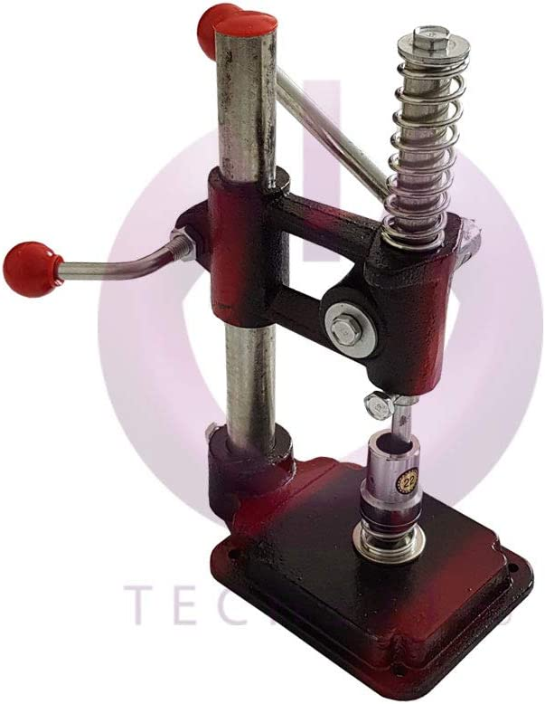 Botón multifunción, máquina de prensa para hacer ojales + 3 ...
