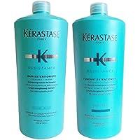 Kit Shampoo e Condicionador Kérastase Resistance Extentioniste (2x1000ml)