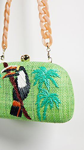 Mia Green Clutch Toucan Serpui Lime Women's Marie ZwEq77Bp