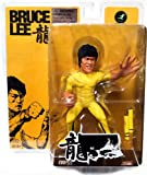 Round 5 Bruce Lee 6 Inch Action Figure Game of Death Bruce Lee Yellow Suit With Nunchucks