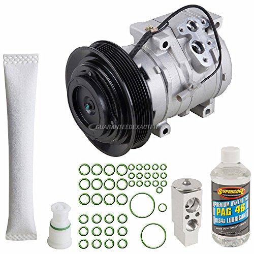 AC Compressor w/A/C Repair Kit For Toyota Corolla & Matrix - BuyAutoParts 60-80434RK - Toyota Kits Corolla