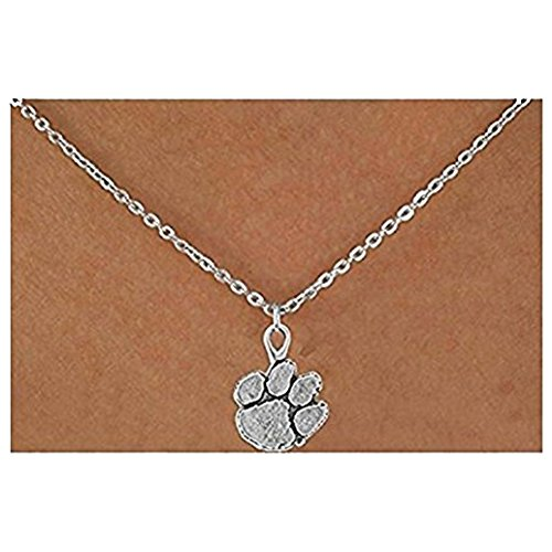 Clemson Mascot Costume (Licensed Clemson University Tigers Mascot Necklace)