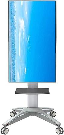 Hxx Carro de TV Universal para 32 – 65 Pulgadas de Altura Ajustable Giratorio para Panel Plano LED LCD Plasma visualización recámara Sala de Estar Conferencia Oficina: Amazon.es: Hogar