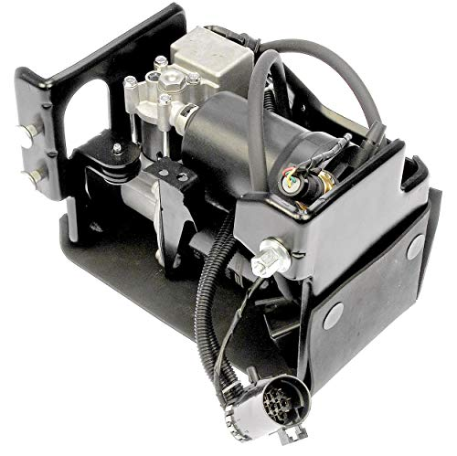 (APDTY 050111 Air Ride Suspension Compressor w/Dryer & Steel Housing (Complete Plug-n-Play Assembly For Active Air Suspension Systems Replaces GM Part #: 15254590))