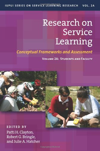 Research on Service Learning: Conceptual Frameworks and Assessments (IUPUI Series on Service Learning Research)