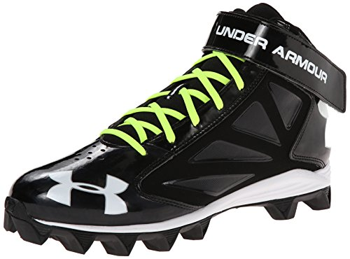 41468cde6fea Amazon.com | Under Armour Boy's Crusher Mid Jr Football Cleat | Fashion  Sneakers