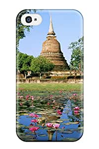 Kenneth Talib Farmer's Shop Cheap 8239846K57390170 New Thailand Holidays Tpu Case Cover, Anti-scratch Phone Case For Iphone 4/4s