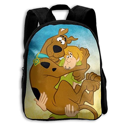 (LIBERVIV Scooby Doo Kid Backpack Boys' Girls' School Bookbag for Children )