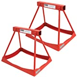 Allstar Performance ALL10254 14'' Tall Steel Stackable Support Stand - 3500 lb. - Pair