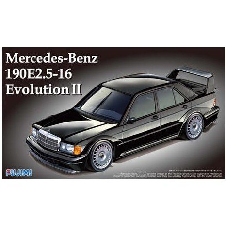 Fujimi Model 1/24 Real Sports car Series No.14 Mercedes-Benz 190E 2.5-16 Evolution II from Fujimi