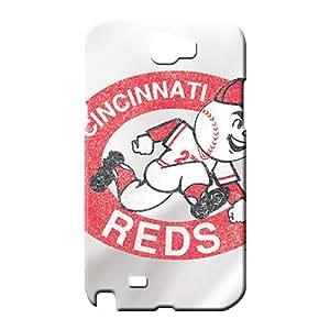 samsung note 2 Impact Bumper For phone Cases phone case skin cincinnati reds mlb baseball