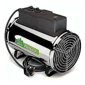 Biogreen PHX 2.8/GB Phoenix Calentador eléctrico 1.0/1.8/2.8 KW