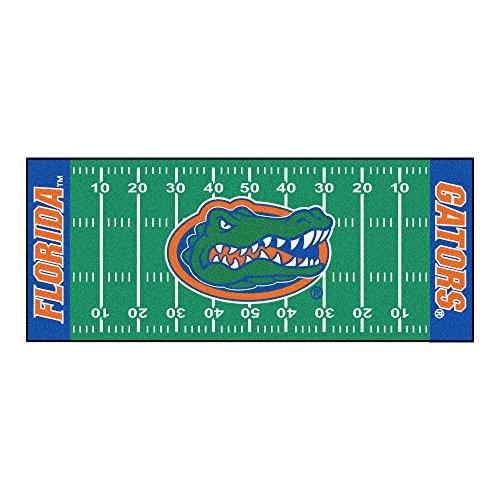 NCAA University of Florida Gators Football Field Runner Mat Area - Central Runner Florida