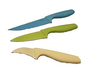 Tchibo Tcm 3 Er Kuchenmesser Messer Kuche Amazon De Kuche Haushalt