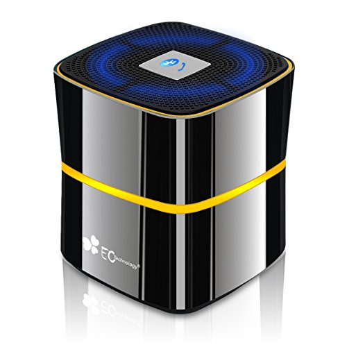 EC Technology Ultra Portable Bluetooth Wireless Speaker with Microphone for Smartphones/Tablet/Laptops