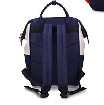 Hosaire Backpack Mochilas Escolares Mujer Mochila Escolar Lona Grande Bolsa Estilo Étnico Vendimia Casual Colegio Bolso Para Chicas (Azul): Amazon.es: ...