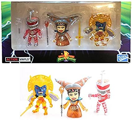 Power Rangers Action Vinyls Collectible Figures by The Loyal Subjects...