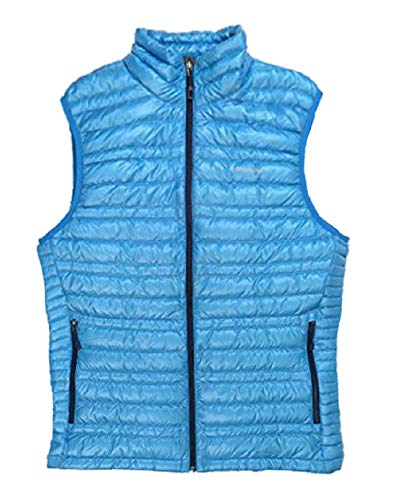Patagonia Men's Ultralight Down Vest Grecian Blue (Patagonia Lightweight Vest)