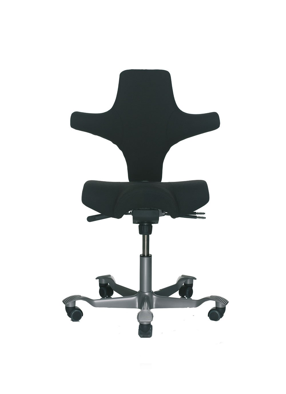 HAG Capisco Drehstuhl 8106 Bezug XTREM Havanna YS009 black Bürostuhl