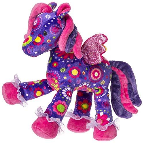 Mary Meyer Print Pizzazz Starflower Pegasus Plush Toy - Unicorn With Wings Stuffed Animal