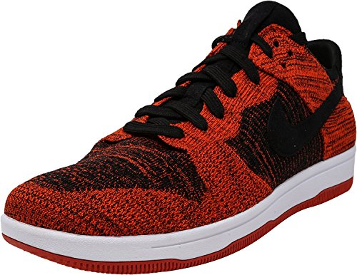 Black Homme chile Red Black Dunk Nike Basketball Flyknit Chaussures De white SSX4Yq