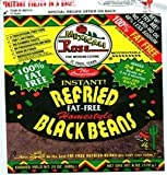 Mexicali Rose Low Fat Free Refried Black Beans Instant 3 pack