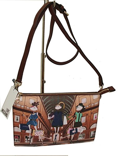 Borsa a tracolla clutch bag Love Moschino JC4100 woman SHOULDER BAG CAMEL