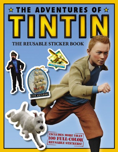 Download The Adventures of Tintin: The Reusable Sticker Book (Movie Tie-In) pdf epub