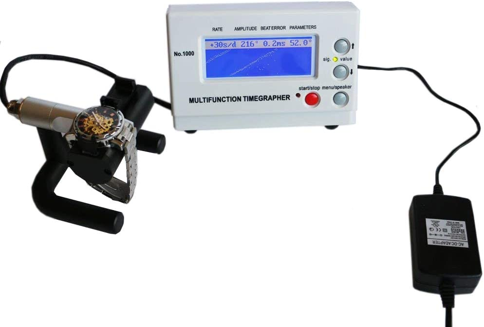 OTOOLWORLD Watch Tester Timing Multifunction Timegrapher NO.1000 Watch tool: Home Improvement