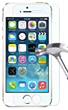 Image of TANTEK Ultra Clear 9H Tempered Glass Screen Protector for iPhone 5/5C/5S/SE - 2 Pack