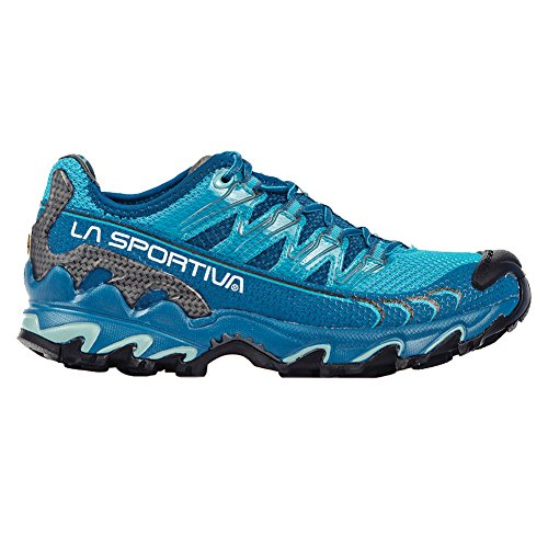 La Sportiva Ultra Raptor Women's Mountain Trail Running Shoe, Fjord/Malibu Blue, 39.5 ()