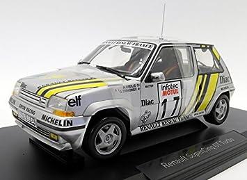Norev NV185215 1: 18 1989 Renault Supercinq GT Turbo - Tour de Corse 1989: Amazon.es: Juguetes y juegos