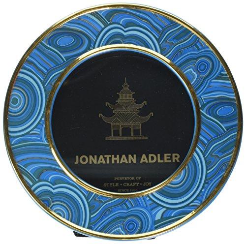 Jonathan Adler Malachite Frame, Blue by Jonathan Adler