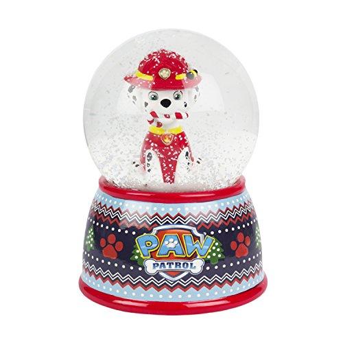 Nickelodeon Marshall Paw Patrol Christmas Snow Globe Coin Bank