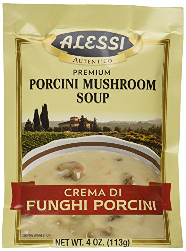 Alessi Porcini Mushroom Soup Mix, 4 Ounce (Pack of 6)