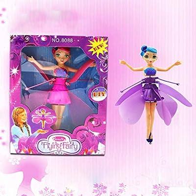 Flying Angel Doll Infrared Induction Flying Dolls Children Girl Gift Drone FY