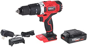 Hyper Tough 20V Max Cordless Hammer Drill with Battery & Charger