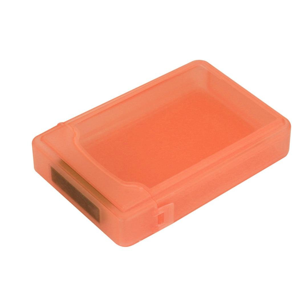 2.5inch Hard Disk Case,Tool-Free USB 3.0 SATA III Hard Disk Enclosures Case Cover For 2.5inch HDD SSD (Orange)