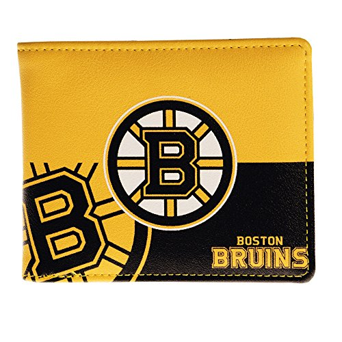 NHL Boston Bruins Bi-fold Wallet (Nhl Card Boston Bruins)
