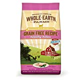 Whole Earth Farms Grain Free Recipe Dry Cat Food, Kitten, 10 Lb. Review