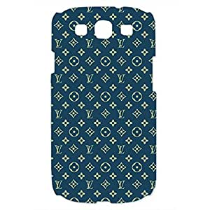 Samsung Galaxy S3 Simple Series Louis And Vuitton Style 3D Hard Plastic Case